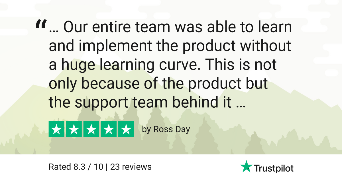 Trustpilot Review - Ross Day